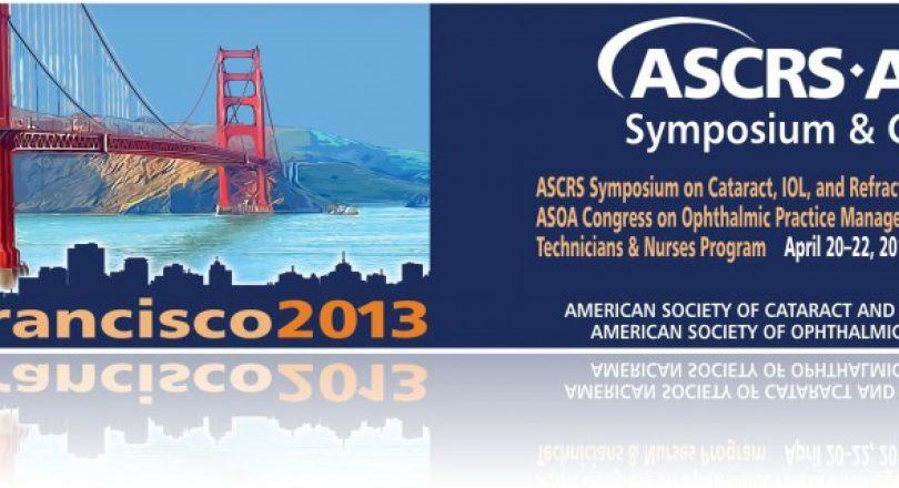 ASCRS San Francisco 2013