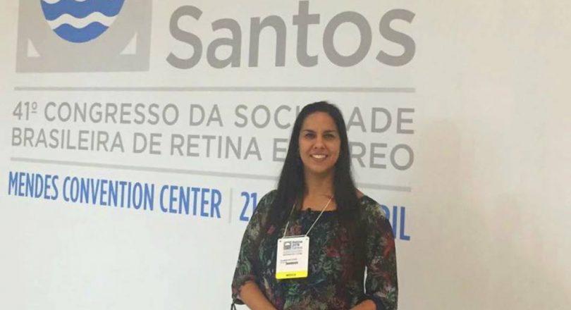 Dra. Juliana participa de atualização em Retina e Vítreo