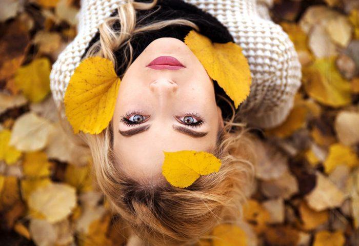Cuidado com Olhos no Outono