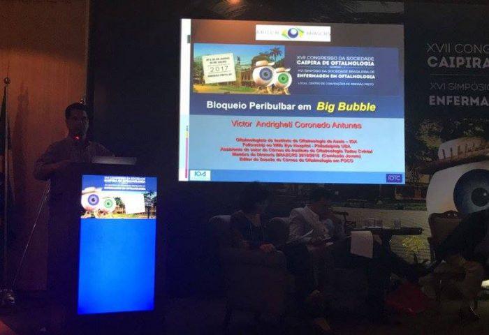 XVII Congresso da Sociedade Caipira de Oftalmologia em Ribeirão Preto