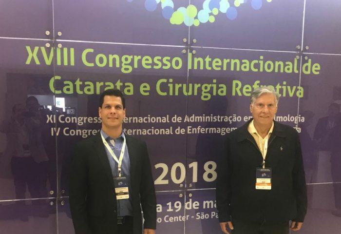 Caso Clínico do Dr. Victor A. C. Antunes é Premiado em Congresso Brasileiro de Oftalmologia