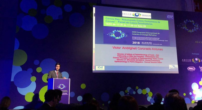 XVIII Congresso Internacional de Catarata e Cirurgia Refrativa – ABCCR/BRASCR – 2018